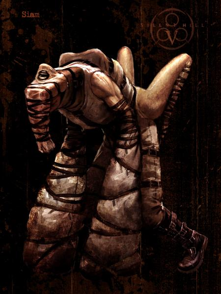Silent Hill Monsters Siamar10
