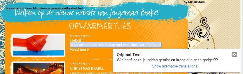 Google Translate on Websites Notgad10