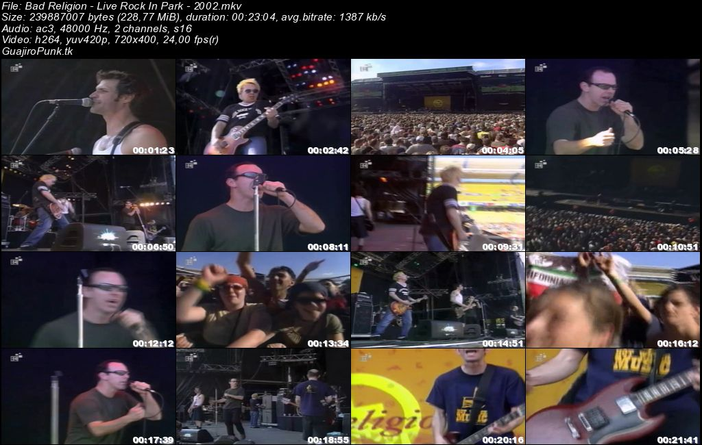 BAD RELIGION - Live Rock In Park - 2002 Bad_re10