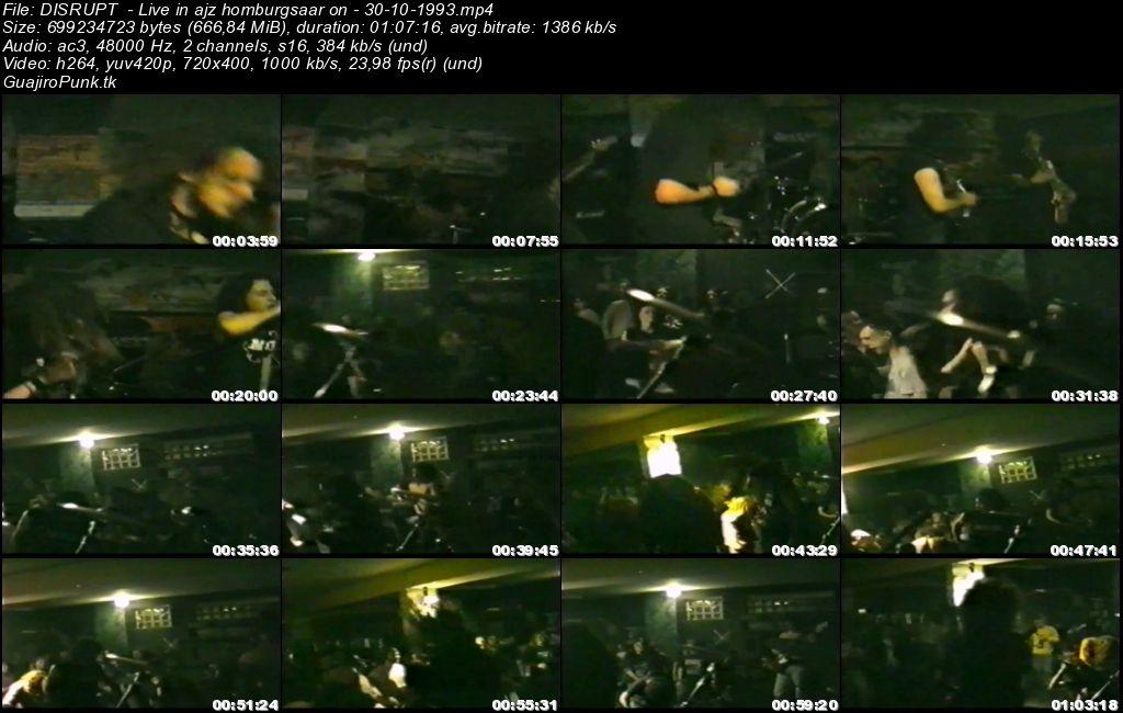 DISRUPT  - Live in ajz homburgsaar on - 30-10-1993 Disrup10