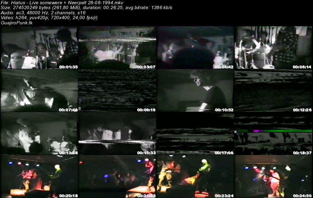 Hiatus - Live somewere + Neerpelt 28-08-1994 Hiatus10