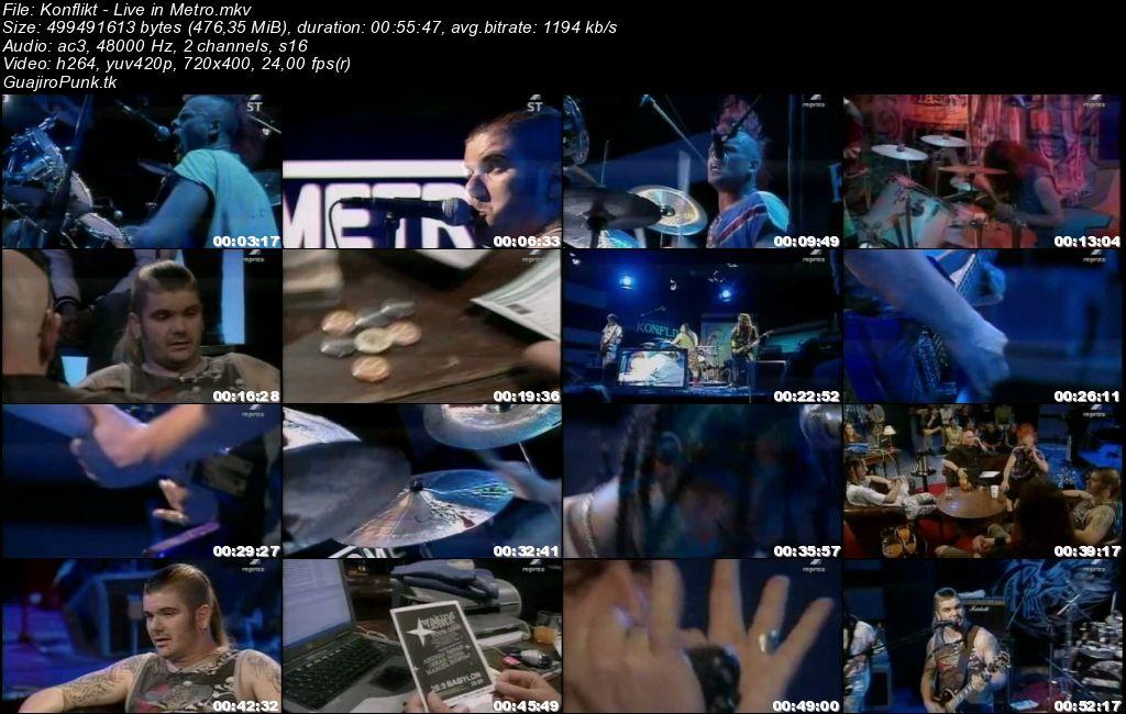 KONFLIKT - Live in TV Metro Konfli11