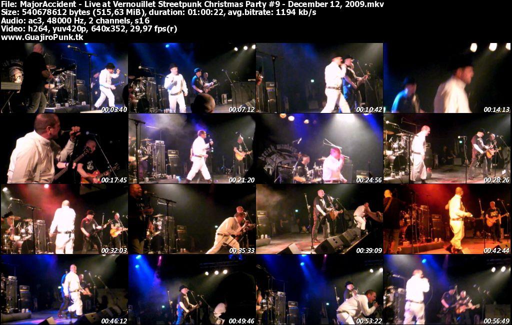 MAJOR ACCIDENT - Live at Vernouillet Streetpunk Christmas Party #9 - December 12, 2009 Majora10