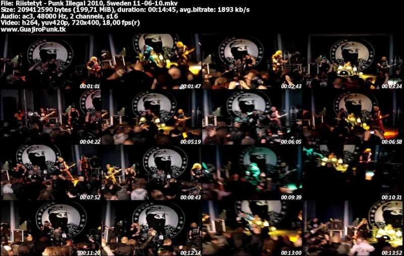 RIISTETYT - Punk Illegal 2010, Sweden  Riiste10