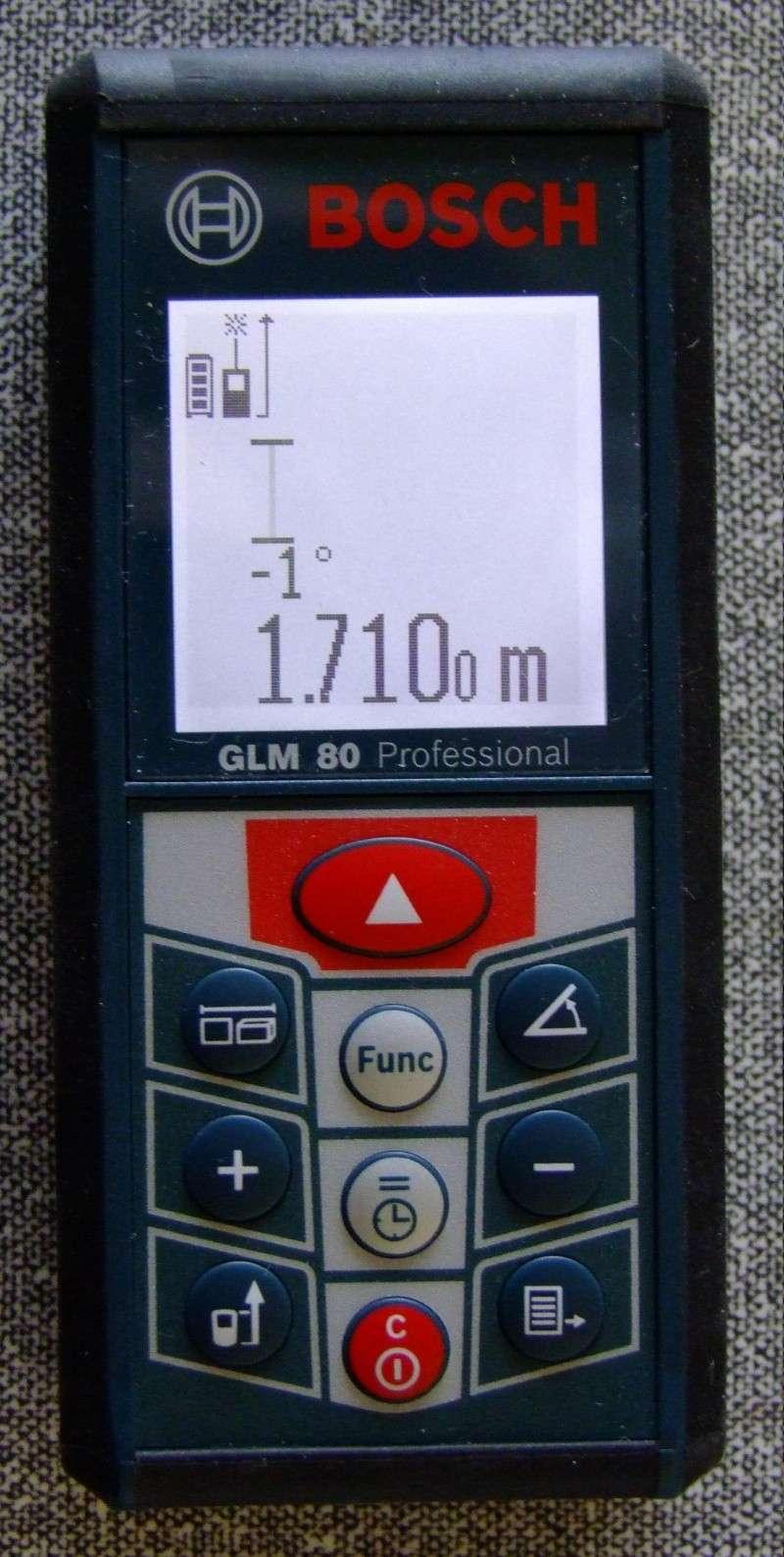 Télémêtre laser BOSCH GLM80 + R60 Dscf5021