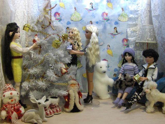 """13 - THEME PHOTO DU MOIS: Décembre 2011  """"NOEL ... ses préparatifs, la fête , le Père NOEL , les cadeaux"""" Hpim0310"""