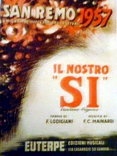 FESTIVAL DI SANREMO 1957: I CANTANTI - LE CANZONI - I TESTI Ilnost10