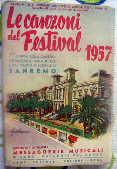 FESTIVAL DI SANREMO 1957: I CANTANTI - LE CANZONI - I TESTI Sanrem11