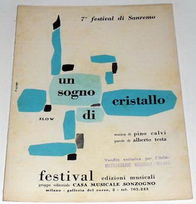 FESTIVAL DI SANREMO 1957: I CANTANTI - LE CANZONI - I TESTI Unsogn10