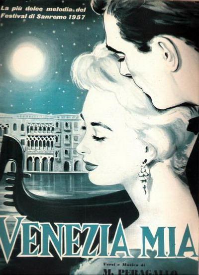 FESTIVAL DI SANREMO 1957: I CANTANTI - LE CANZONI - I TESTI Venezi10