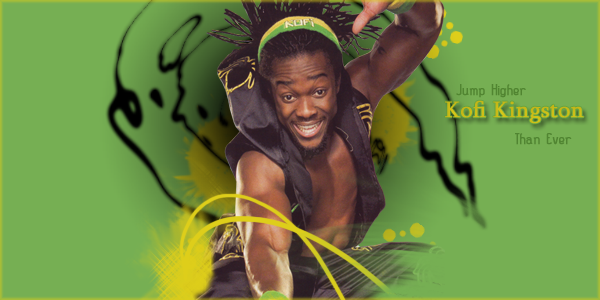# 1 contender au titre Hopes Fatal Four Way Match   Kofi_110