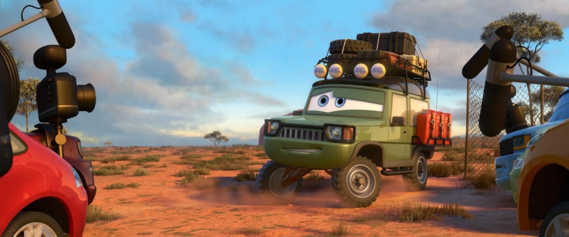 La voiture du film Cars 2 que vous aimeriez voir en miniature Mattel ! - Page 9 Cars_221