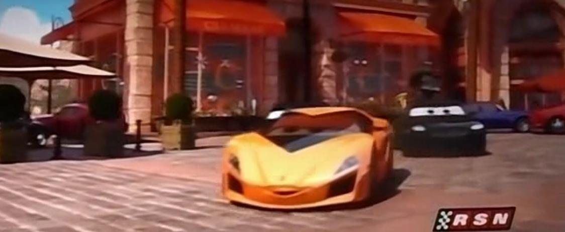 La voiture du film Cars 2 que vous aimeriez voir en miniature Mattel ! Lambo10