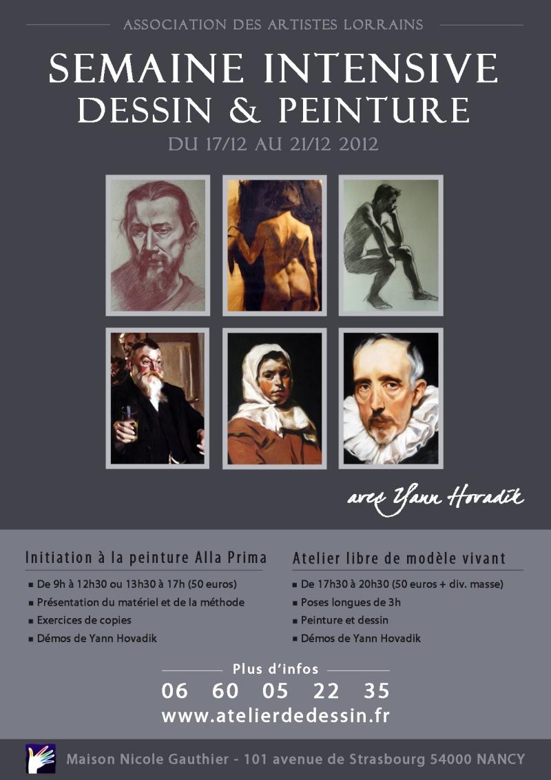 SEMAINE INTENSIVE DESSIN&PEINTURE DECEMBRE 2012 Semain10