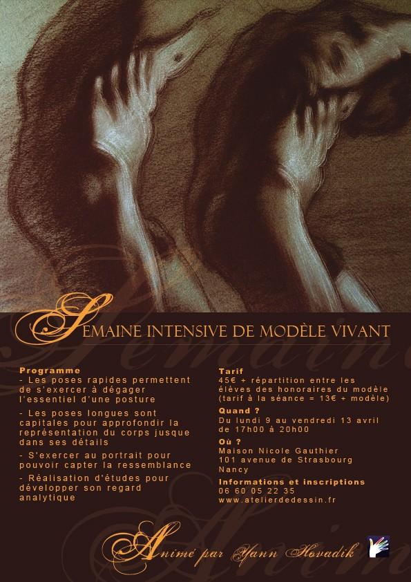 SEMAINE DESSIN INTENSIF Lundi 9 au Vendredi 13 Avril 2012 Tract-11