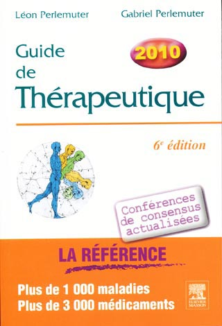 Guide de Thérapeutique 2010 Captur11