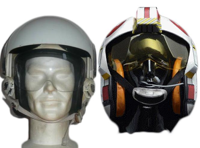 Le Pilote de X-Wing by Larsen Casque12