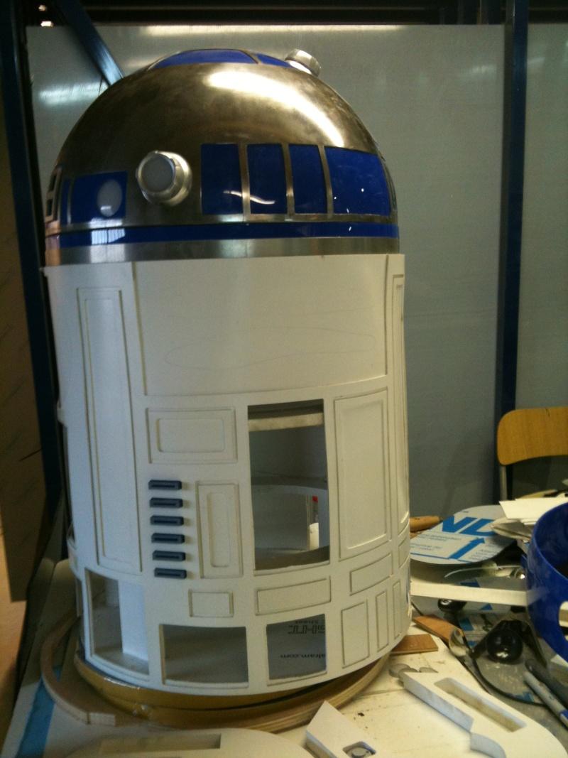 le R2-D2 a larsen life size R2_d2167