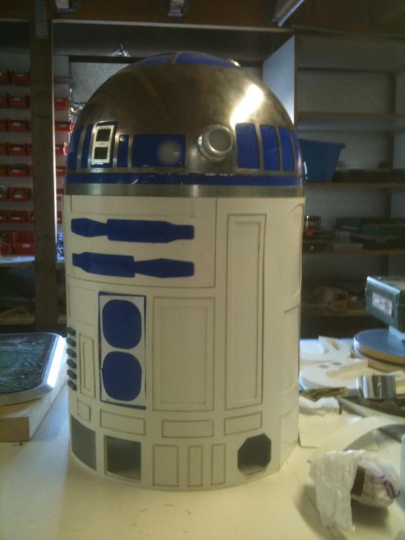 le R2-D2 a larsen life size R2_d2176