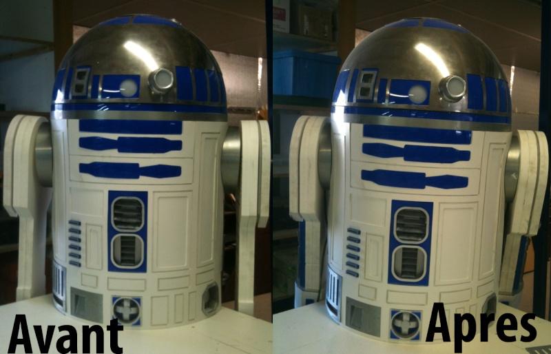 le R2-D2 a larsen life size R2_d2247
