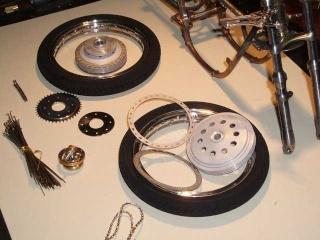 Construction 250 GP modèle réduit Benell37