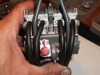 Construction 250 GP modèle réduit Benell48