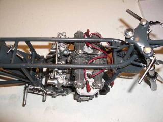 Construction 250 GP modèle réduit Benell49