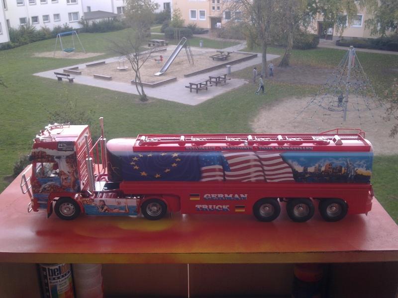 """Revell; MAN F2000 """"German Truck"""" Bild0310"""
