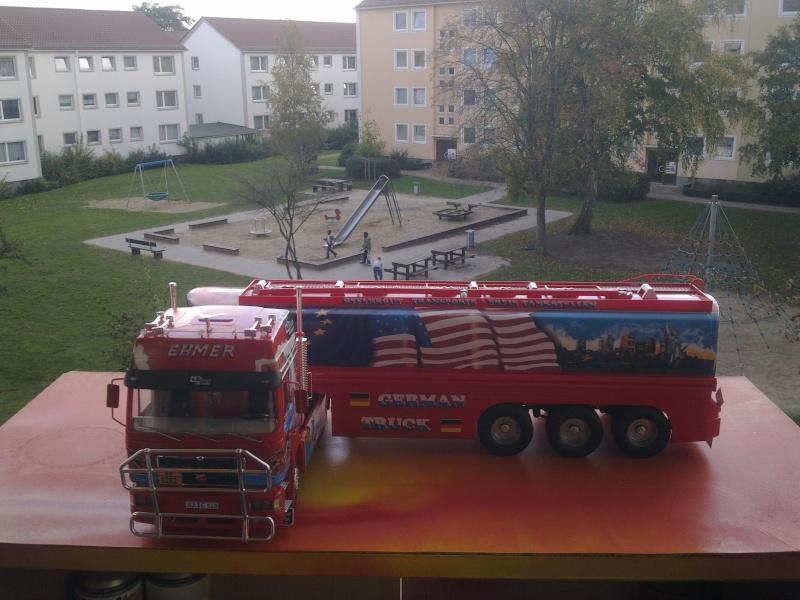 """Revell; MAN F2000 """"German Truck"""" Bild0312"""