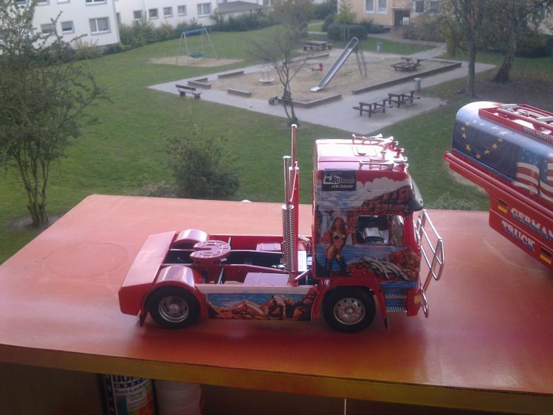 """Revell; MAN F2000 """"German Truck"""" Bild0314"""