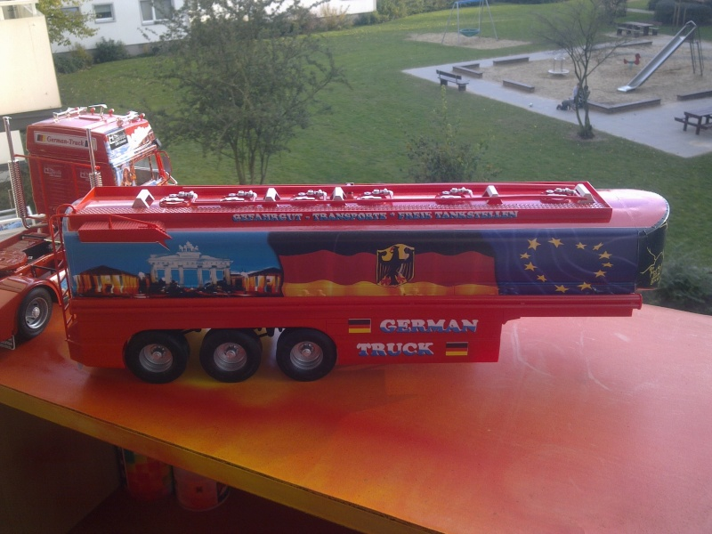 """Revell; MAN F2000 """"German Truck"""" Bild0316"""