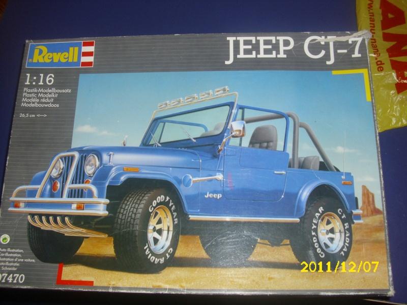 Jeep CJ 7 / Revell /1:16 Dsci0113