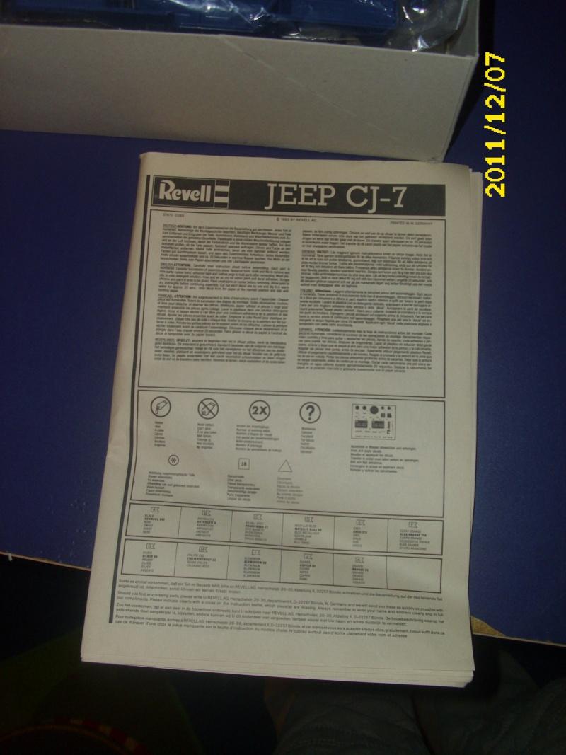 Jeep CJ 7 / Revell /1:16 Dsci0114