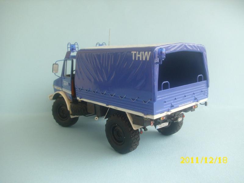 MB Unimog THW /Revell / 1:24 Dsci0329
