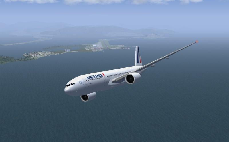 VOL TNCM - KMIA en Boeing 777-200ER 410