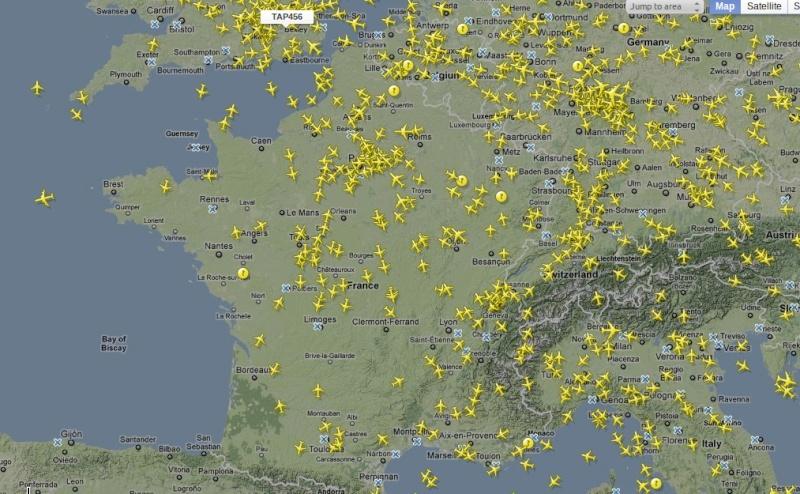 Traffic aérien Captur10