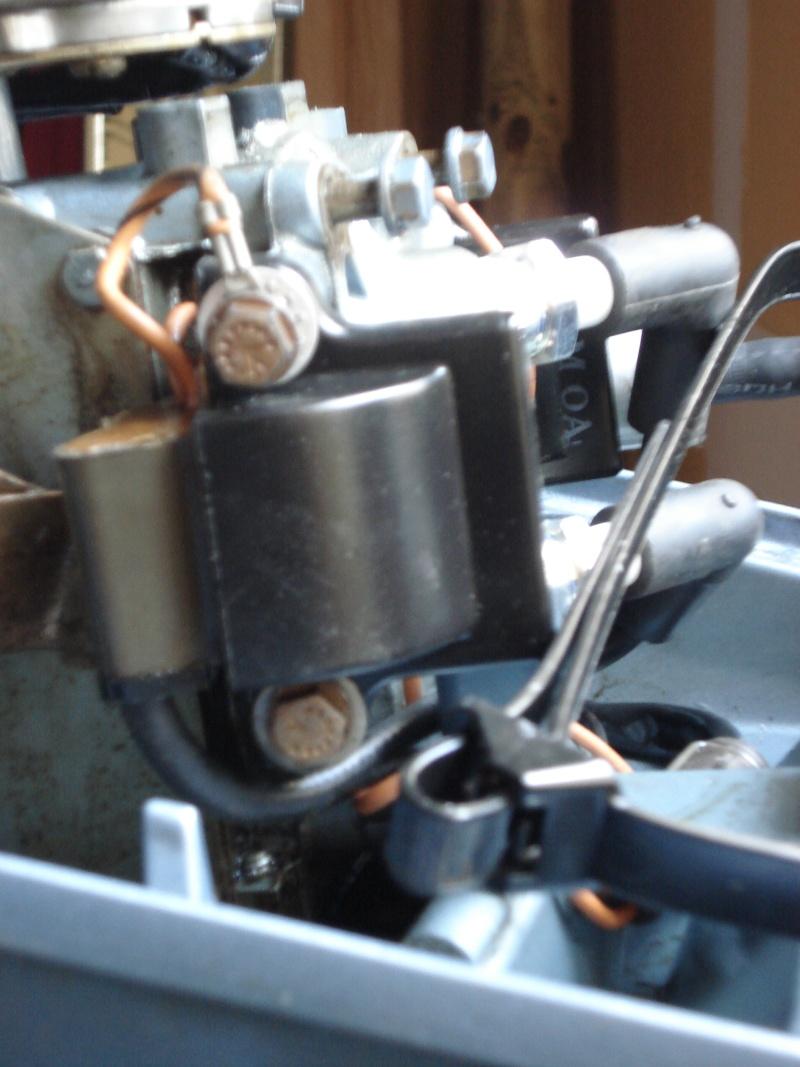 Réparation Poignée d'accélération et changement du joint carter Dsc03012
