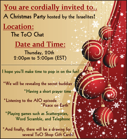 The Christmas Party is TODAY! Don't miss out!! Party_10