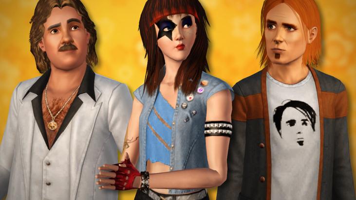 The Sims™ 3 70-е, 80-е, 90-е - каталог скоро выйдет 10004714