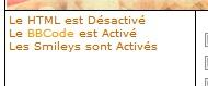 [ demande ] Activation du html Htmlde10