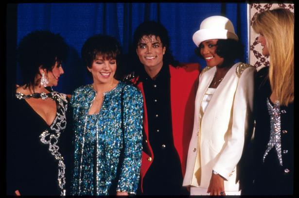 Michael Jackson & Whitney Houston 40154111