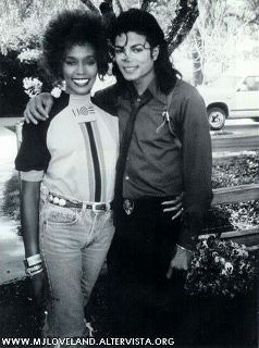 Michael Jackson & Whitney Houston 40796911