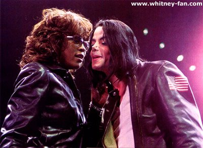 Michael Jackson & Whitney Houston 42374411
