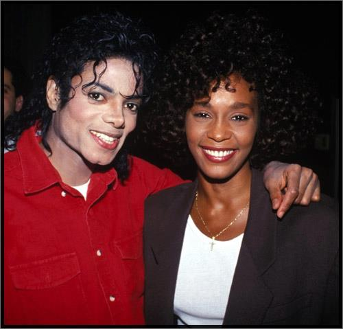 Michael Jackson & Whitney Houston 43225011