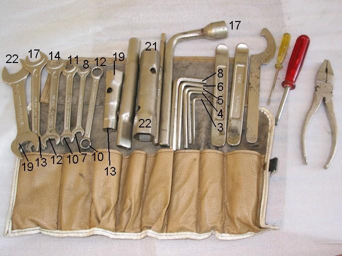 """trousse outils """"de bord"""" série 2 Tool1315"""