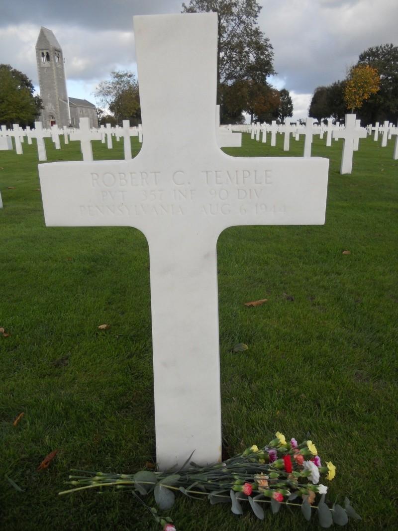 Pvt. Robert C. Temple E.Co 357th IR 90th ID KIA August 6th 1944 in Mayenne 27_10_11