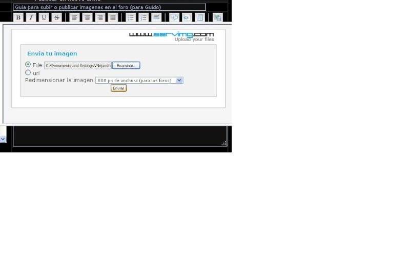 Guia para subir o publicar imagenes en el foro (para Guido) Tuto310