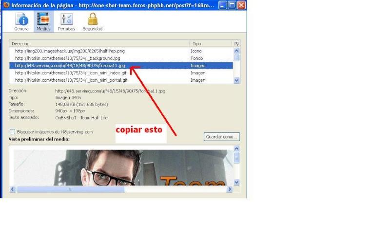 Guia para subir o publicar imagenes en el foro (para Guido) Tuto710