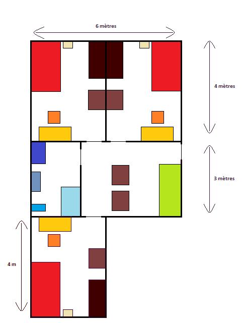 Plans de l'école Chambr14