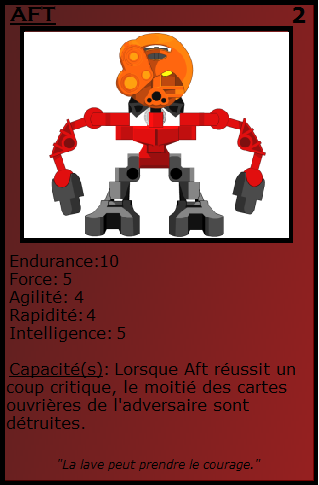 [Blog] Projet 2: BIONICLE Cards & HEROFACTORY Cards - Page 13 Aft10
